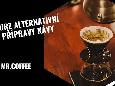 Kurz alternativní přípravy kávy